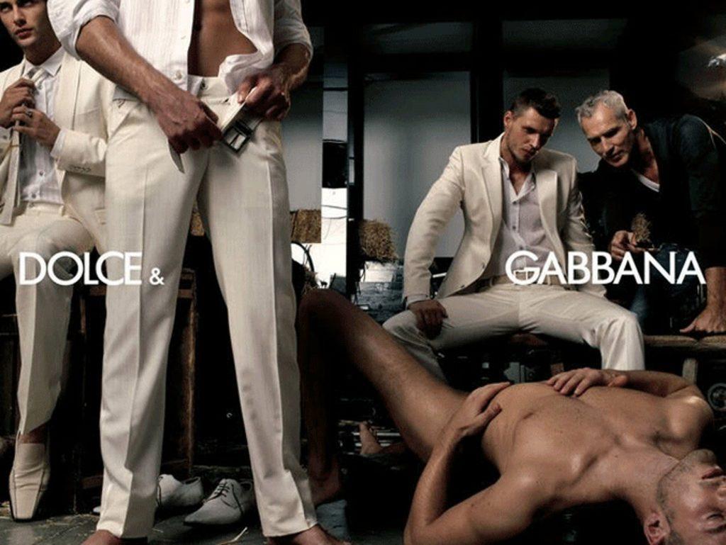 Docle & Gabanna (homoseksualiteit en geweld in reclame)